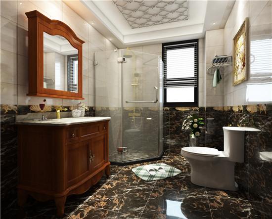 浴室柜的外观造型,色彩,与整间浴室的墙壁,地板砖等要统一协调,端庄