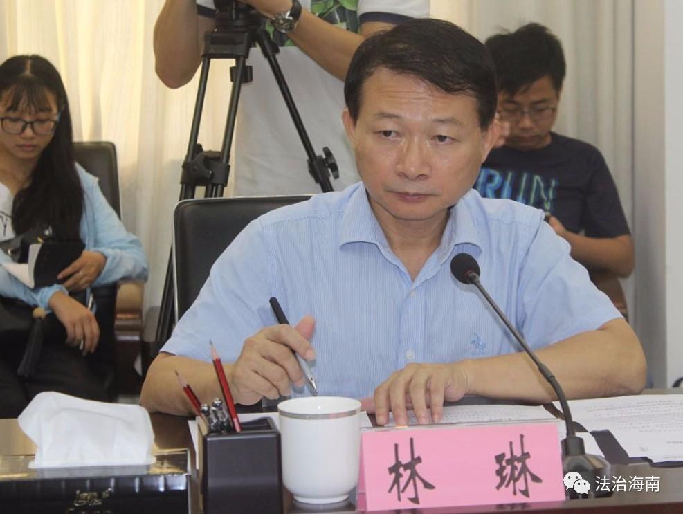 海南省司法厅副厅长林琳到儋