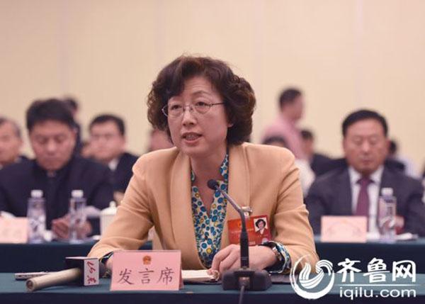 威海原市长张惠任山东省妇联党组书记