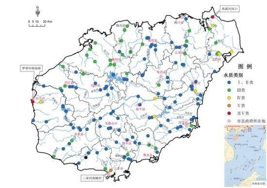 第二季度主要河流、湖库水质状况