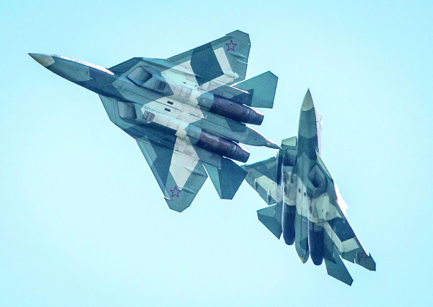 俄T-50正式更名苏-57被讽不如中美 印度眼馋心热