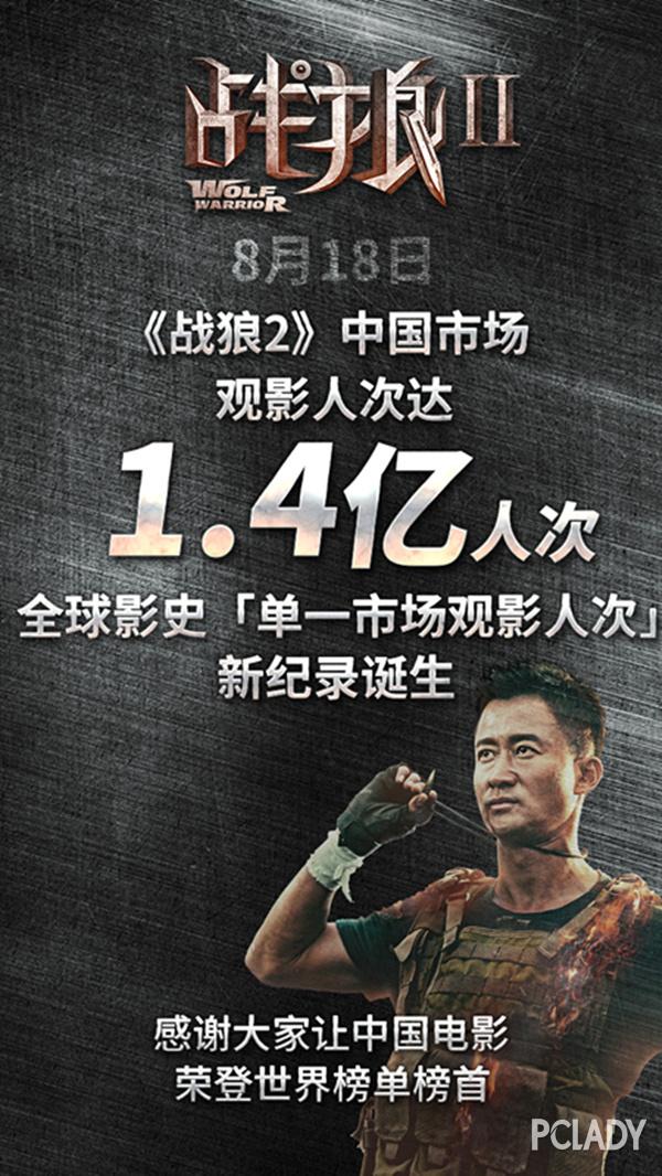 《战狼2》票房再创破50亿吴京背后这个女人不简单