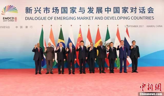 金砖厦门会晤,为何邀请这5个非金砖国家参加?