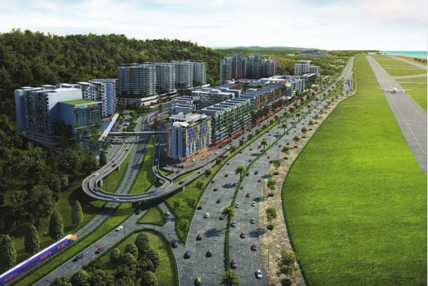 马来西亚Aeropod傲踞沙巴商业区核心房地产黄