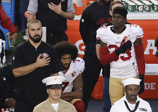 特朗普集会爆粗批评黑人球员