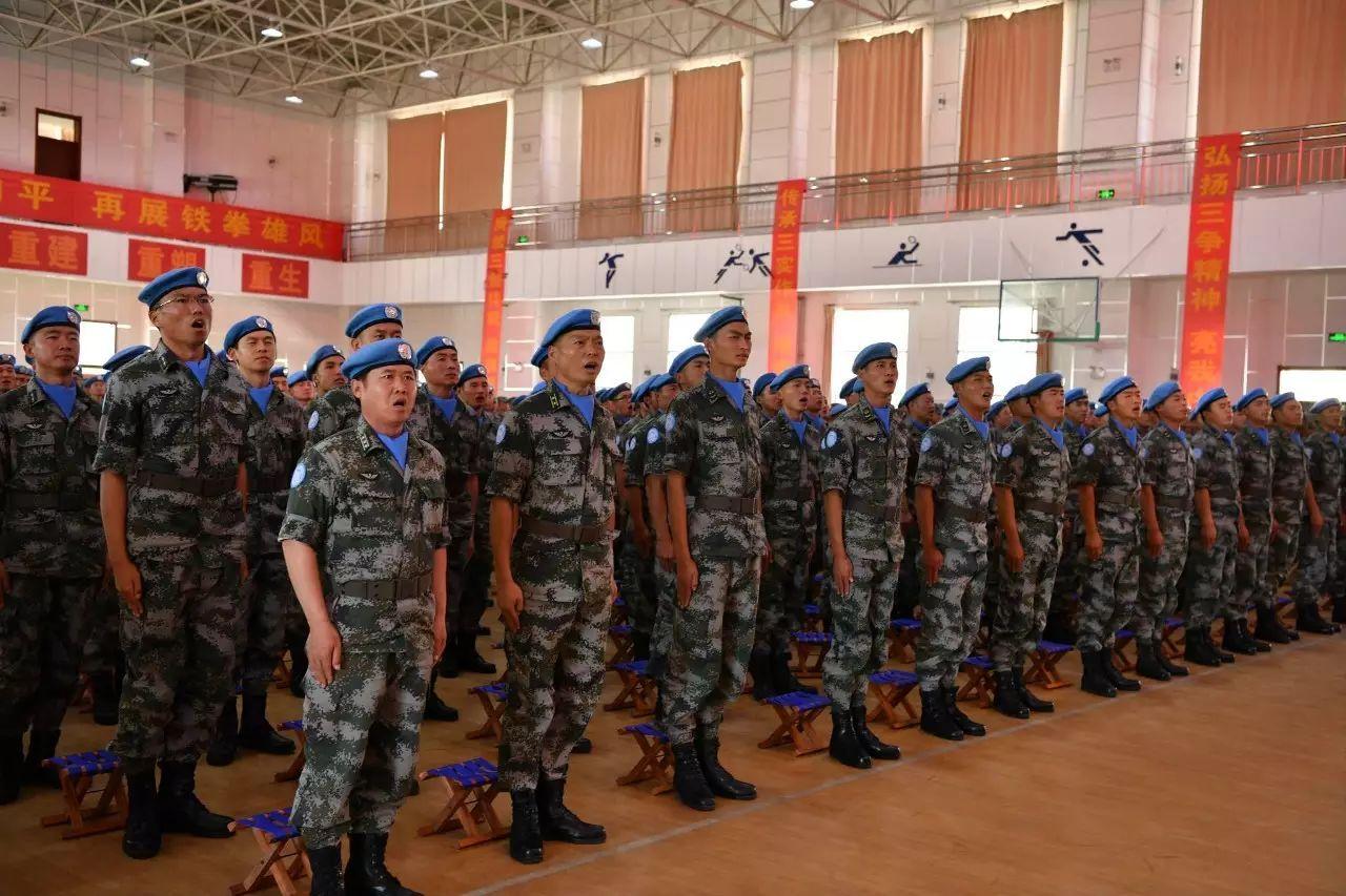 十四集团军军歌_第81集团军首批赴苏丹维和工兵分队成立,11月启程