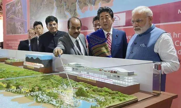 午报:日本斥巨资在印度修高铁,列车配图却用的和谐号