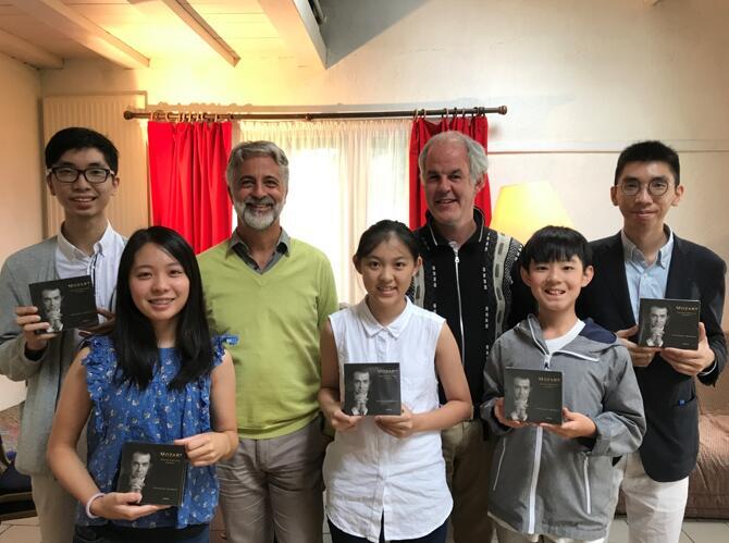 金紫荆国际钢琴音乐节助力学子梦想之路