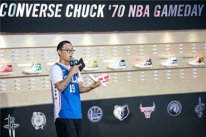 """""""初生球场, 蹦造街头"""" CONVERSE发布NBA特别合作系列讲述从球场到街头的品牌历程"""
