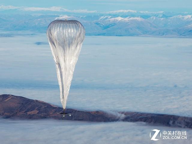 谷歌热气球开始发威已向灾区提供网络