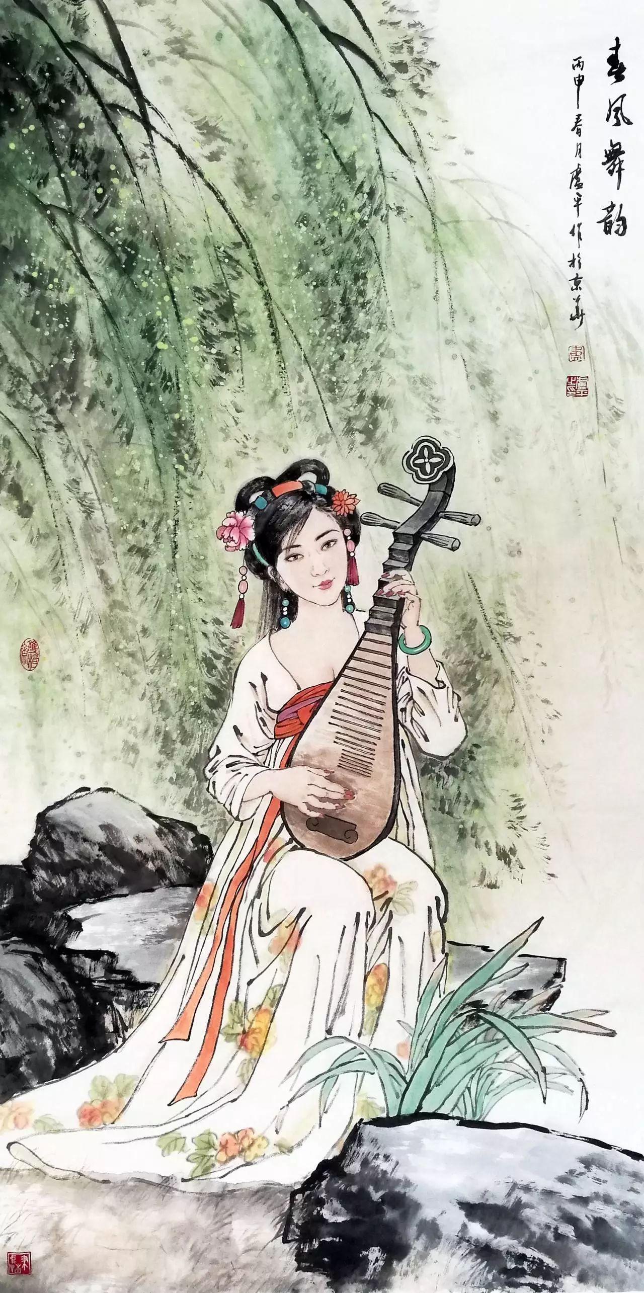 琵琶琴怎么画-唐宋诗词为何对琵琶情有独钟