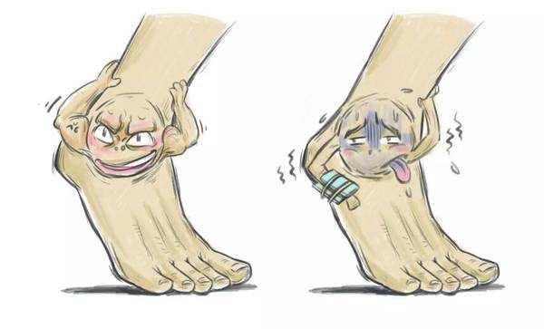 意外扭伤脚崴脚处理不当后果很严重!