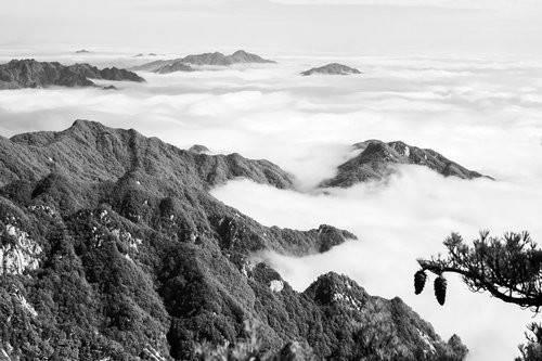 摄影师黄岩镜头下的尧山云海