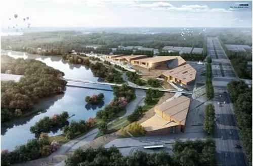 乐山大佛景区新建游客中心 五种方案你最中意哪