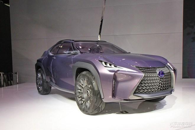 雷克萨斯UX量产版车型或将于明年1月亮相