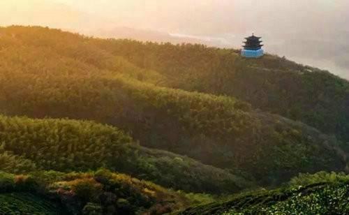 有一种蓝身在西九华山才能遇见