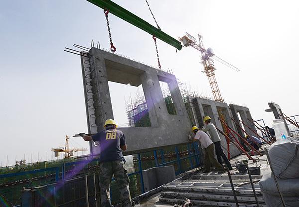 住建部:全国已落实新建装配式建筑项目约1.27亿平米