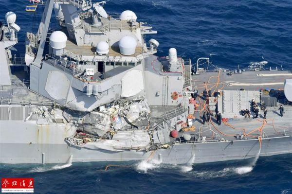 美海军大量军舰缺乏训练 许多证书失效长达2年