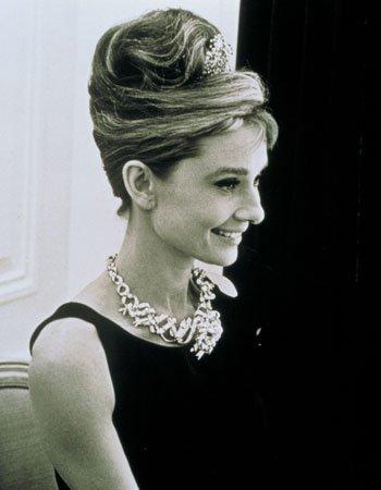 每个女人的梦想那条赫本带过的黄钻项链