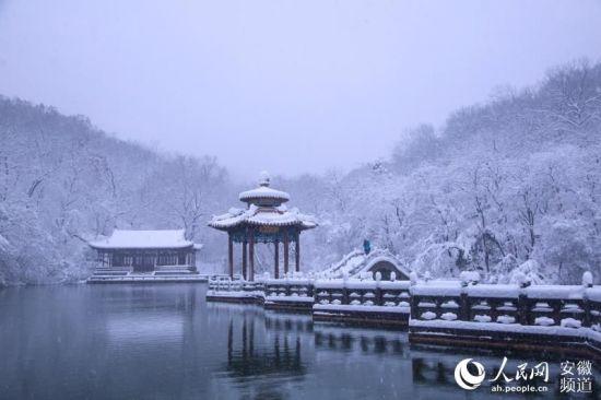 雪中琅琊山【6】