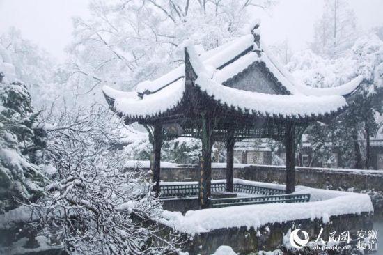 雪中琅琊山【2】