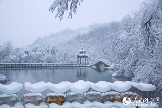 雪中琅琊山【5】