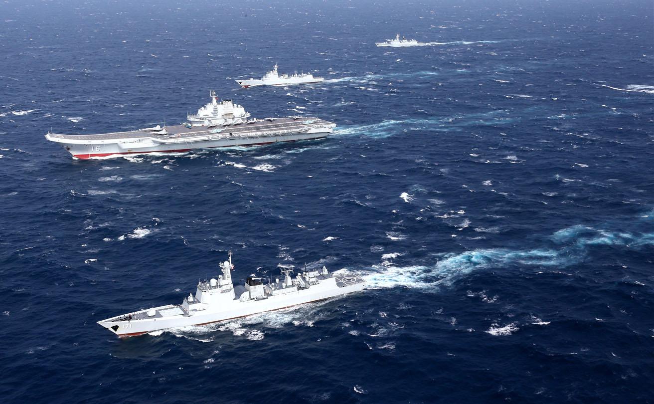 台媒:辽宁舰编队昨夜南下穿越台湾海峡