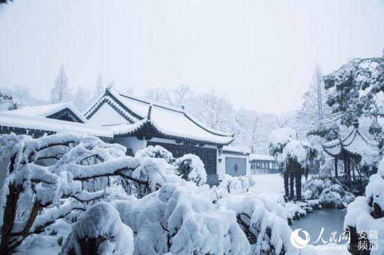 雪中琅琊山【11】