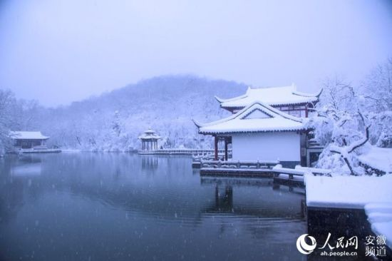雪中琅琊山【7】