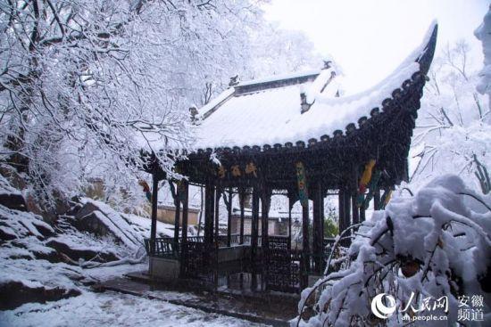 雪中琅琊山【10】