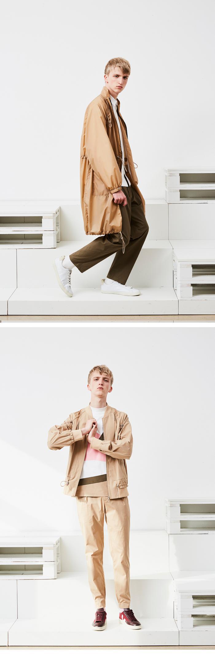 男装设计品牌 DEPOT3 发布2018春季系列Lookbook