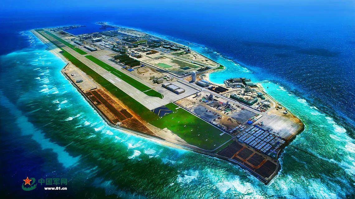 30年放大n倍的南海岛礁全景曝光