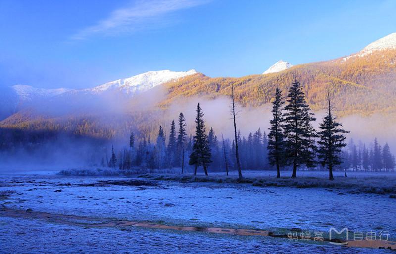 被忽视的冬季美景 新疆一定是冬天最值得去的地方