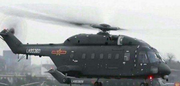 美媒:中国装备新型直升机 用于空中突击作战