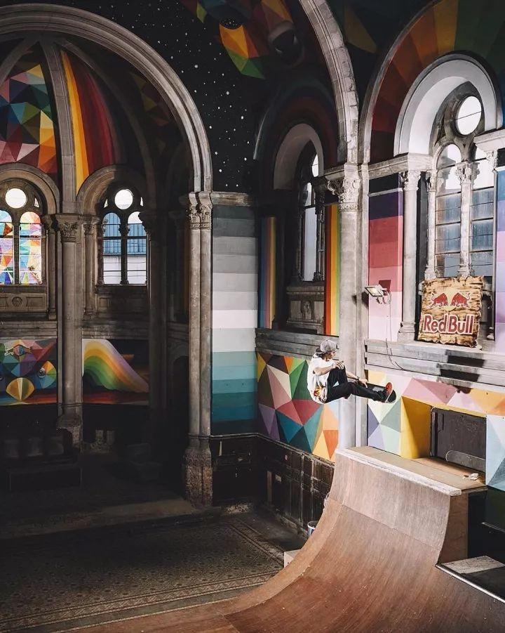 悬崖、废墟、滑板 这是一份最具时尚设计感的小众教堂清单