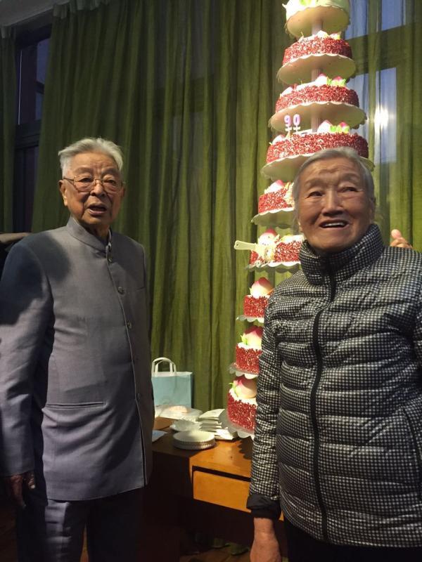 90岁褚时健庆生:任独子新公司董事长 愿再出一份力