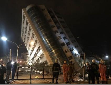 恐怖巧合!台南维冠金龙大楼倒塌2周年整花莲大楼再塌