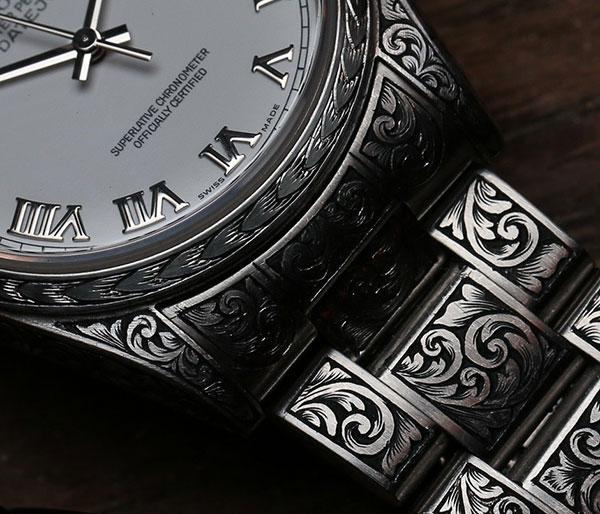 MadeWorn - Engraved - Rolex watch - 15. JPG