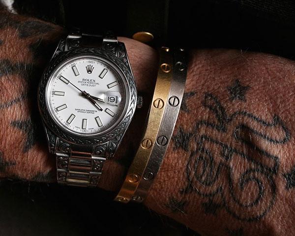 MadeWorn - Engraved - Rolex watch - 32. JPG