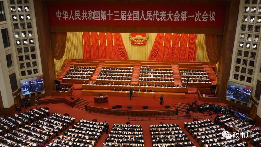 刚刚,6国级3部级老虎在人民大会堂被点名