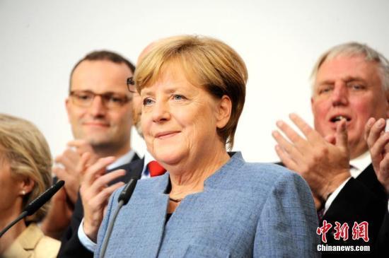 资料图:德国总理默克尔。中新社记者彭大伟摄