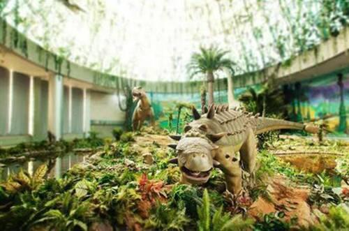 """恐龙遗迹园荣获""""西峡县最美旅游景区""""称号"""