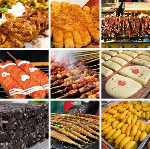 全国的特色美食将齐汇青天河还有十万元美食券相送