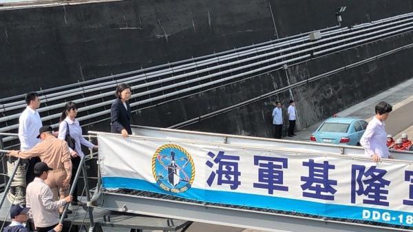 台军也搞阅舰:算上9艘快艇 总共20艘