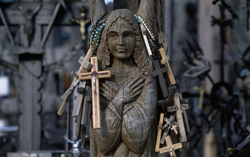 立陶宛:十字架山——背后的伤痛与智慧 | 全球go_凤凰图片