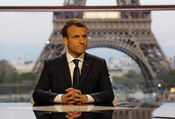 法国对叙动武后第2天 马克龙:我将于5月访问俄