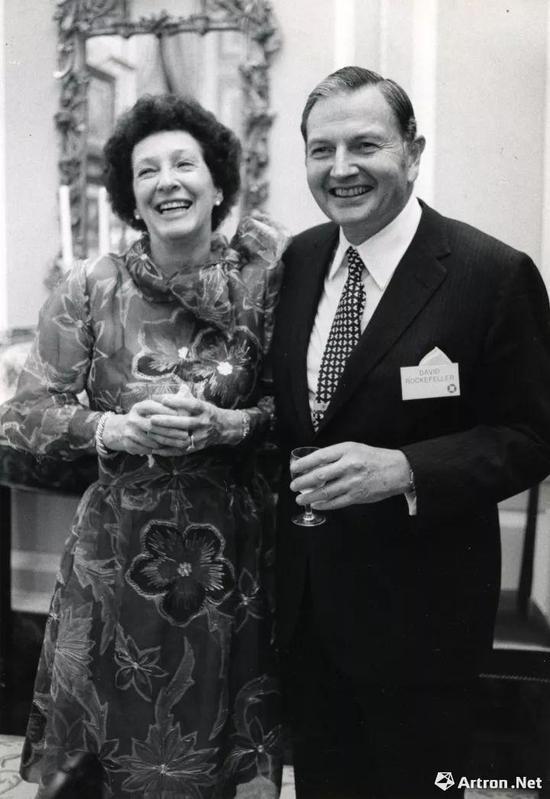 佩吉及大卫·洛克菲勒夫妇