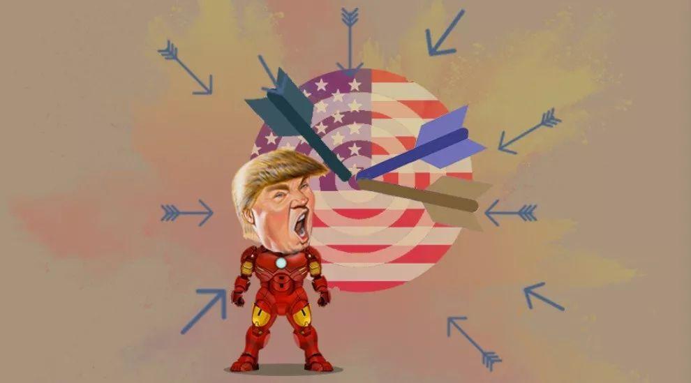 美国遭盟友群殴,特朗普如何收场?