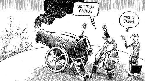 很有意思的,中美�Q易最新一�北京磋商後,中方立刻�畏矫姘l表了�明,美方未做任何表�B。