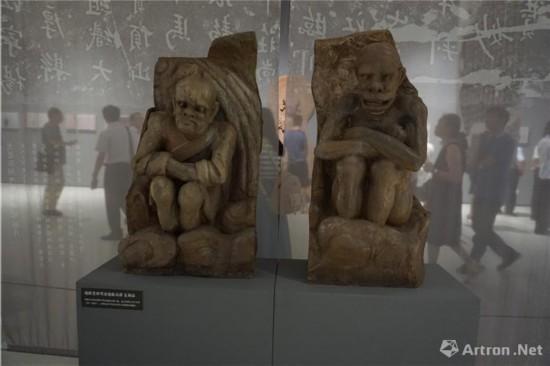 地狱变相寒冰地狱(局部)复制品四川美术学院
